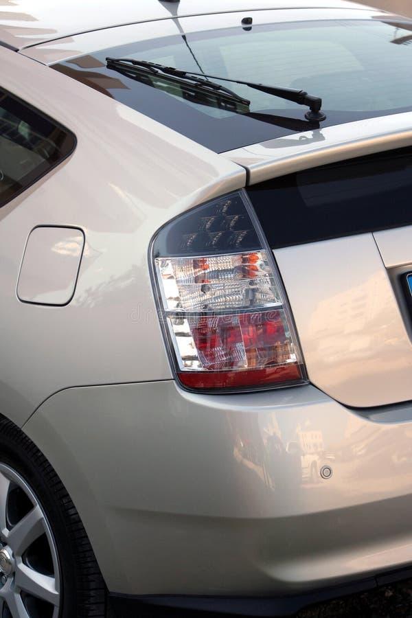 υβρίδιο αυτοκινήτων πίσω πλευρών στοκ εικόνες με δικαίωμα ελεύθερης χρήσης