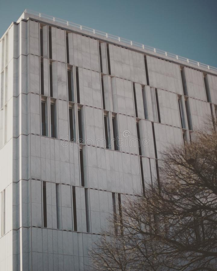 Υβριδικό κτήριο στοκ φωτογραφία με δικαίωμα ελεύθερης χρήσης