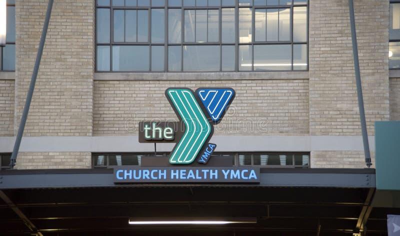 Υγεία YMCA Μέμφιδα, Τένεσι εκκλησιών στοκ εικόνες με δικαίωμα ελεύθερης χρήσης