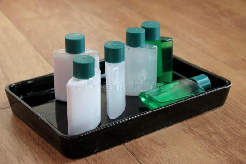 Υγειονομικός καθορισμένος δίσκος εμπορευμάτων στοκ φωτογραφία με δικαίωμα ελεύθερης χρήσης