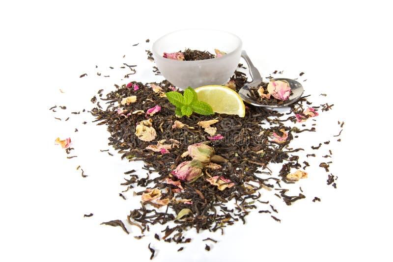 υγιές βοτανικό τσάι στοκ εικόνες
