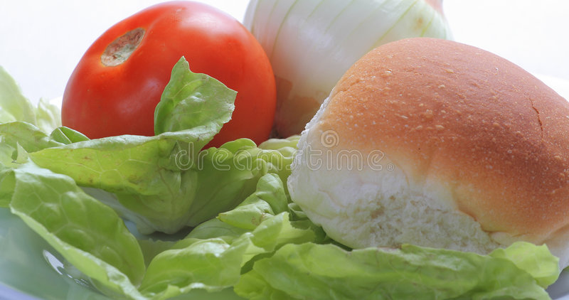 Download υγιές γεύμα στοκ εικόνες. εικόνα από κρεμμύδι, σιτηρέσιο - 1528020
