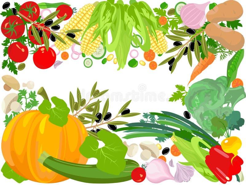 υγιές διάνυσμα ζωής διανυσματική απεικόνιση