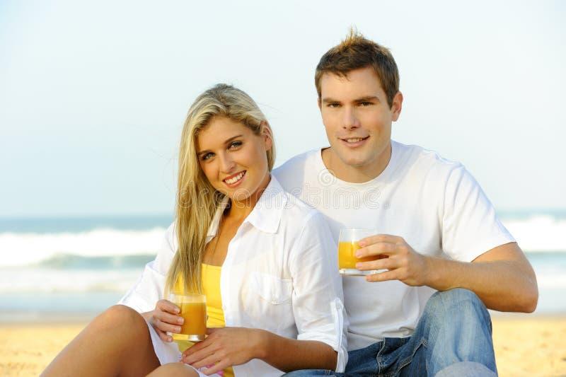 Υγιές ζεύγος στοκ εικόνες με δικαίωμα ελεύθερης χρήσης