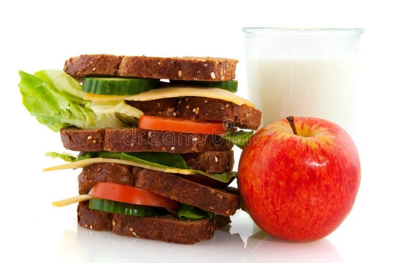 υγιές μεσημεριανό γεύμα στοκ φωτογραφία με δικαίωμα ελεύθερης χρήσης