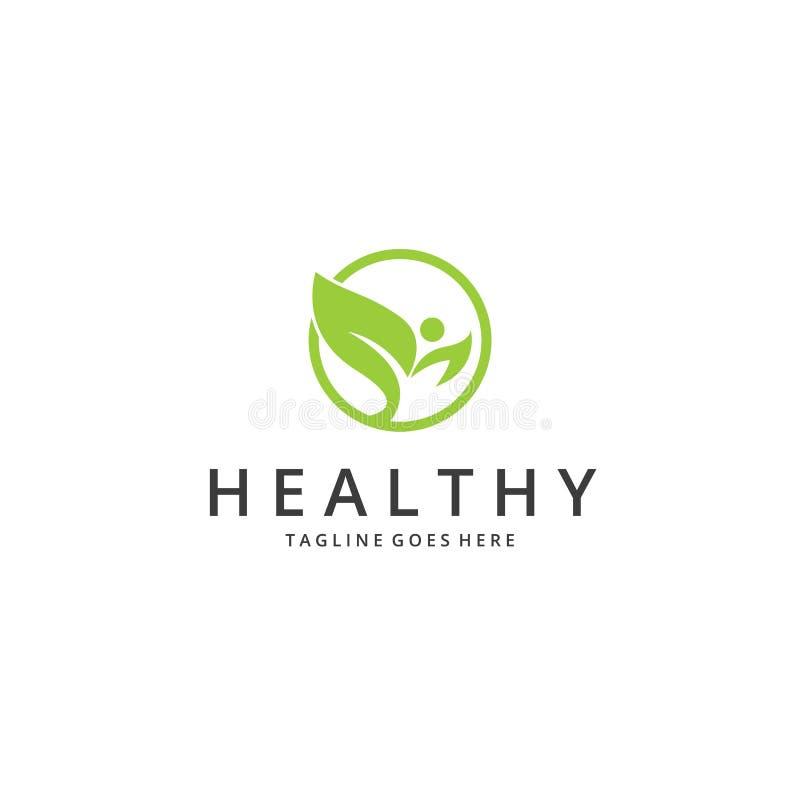 Υγιές λογότυπο απεικόνιση αποθεμάτων