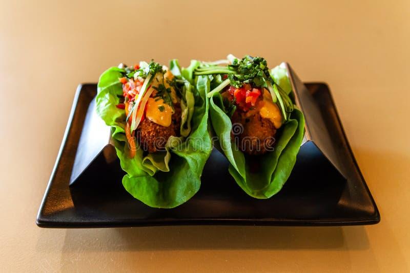 Υγιές πιάτο ορεκτικών στο εστιατόριο στοκ φωτογραφίες με δικαίωμα ελεύθερης χρήσης