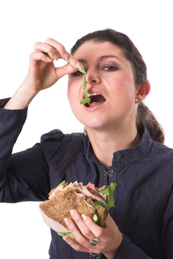υγιές σάντουιτς στοκ φωτογραφίες με δικαίωμα ελεύθερης χρήσης