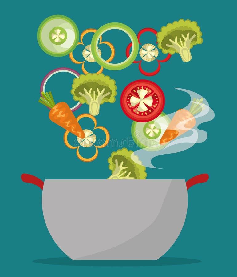 Υγιές σχέδιο τροφίμων στοκ φωτογραφία με δικαίωμα ελεύθερης χρήσης
