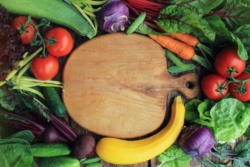 Υγιές υπόβαθρο συστατικών τροφίμων στοκ φωτογραφία