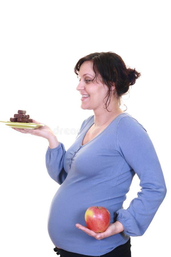 Download υγιής έγκυος στοκ εικόνα. εικόνα από απομονωμένος, πρόσωπο - 1529125