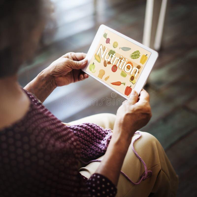 Υγιής έννοια ζωής διατροφής τροφίμων διατροφής στοκ εικόνα με δικαίωμα ελεύθερης χρήσης