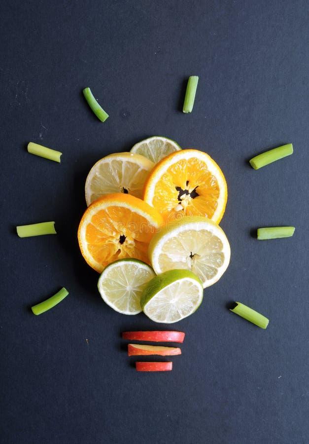 Υγιής έννοια ιδεών διατροφής στοκ φωτογραφία