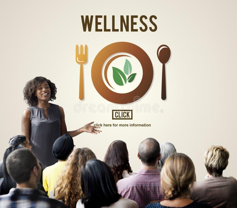 Υγιής έννοια τρόπου ζωής υγείας ευημερίας Wellness στοκ εικόνες