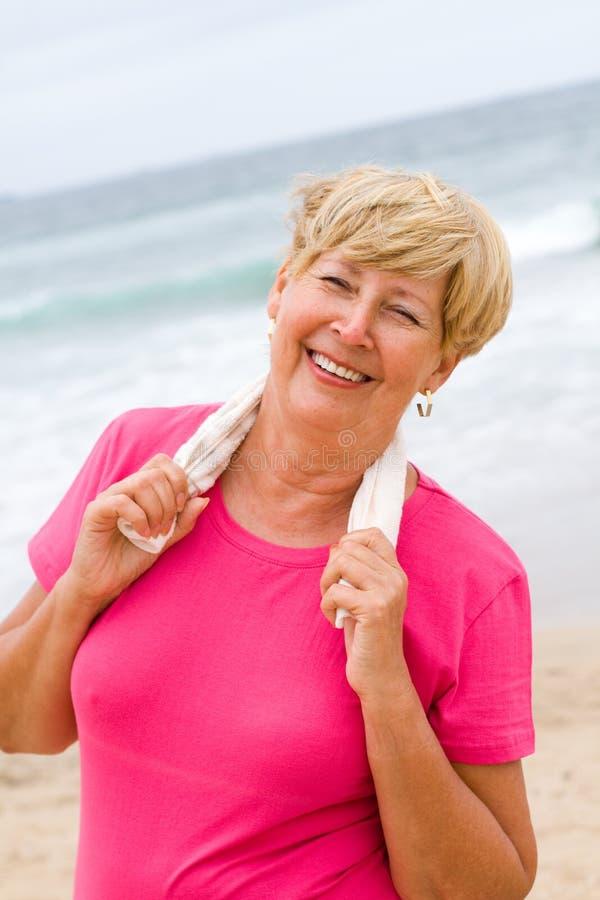 Υγιής ανώτερη ζωή στοκ εικόνα με δικαίωμα ελεύθερης χρήσης