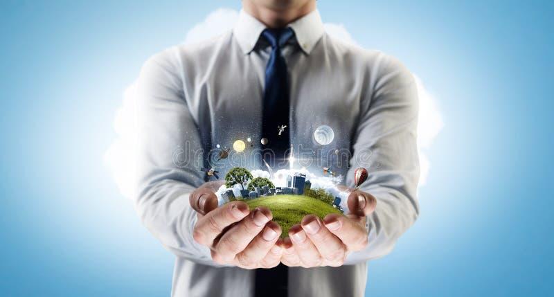 Υγιής ζωή Eco στοκ εικόνες