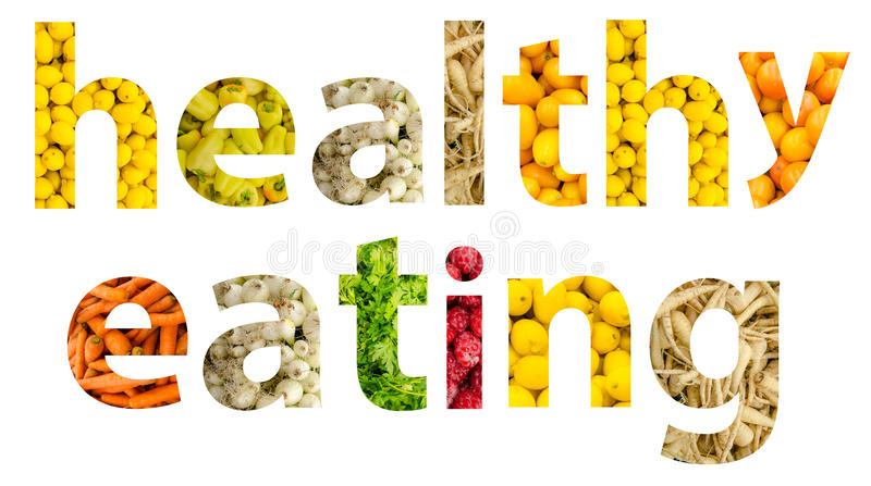 Υγιής κατανάλωση φρούτων και λαχανικών στοκ εικόνες
