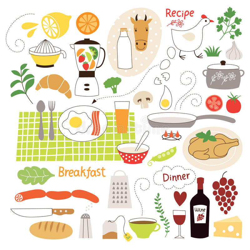 Υγιής κατανάλωση απεικόνιση αποθεμάτων
