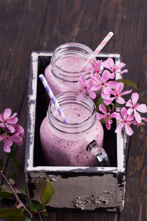 Υγιής καταφερτζής φραουλών σε μια κούπα βάζων κτιστών στοκ φωτογραφίες