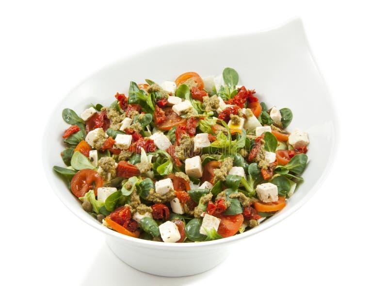 υγιής μικτή σαλάτα στοκ φωτογραφία