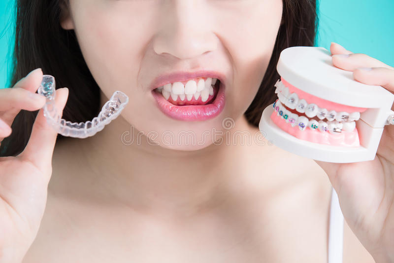 Υγιής οδοντική έννοια στοκ εικόνα