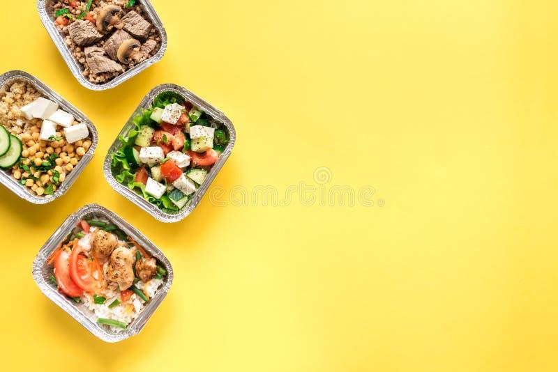 Υγιής παράδοση τροφίμων στοκ εικόνες