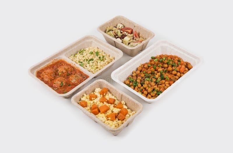 Υγιής παράδοση τροφίμων στοκ εικόνα με δικαίωμα ελεύθερης χρήσης