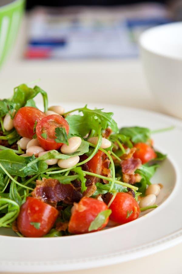 Download υγιής σαλάτα φασολιών στοκ εικόνες. εικόνα από άσπρος - 13188322