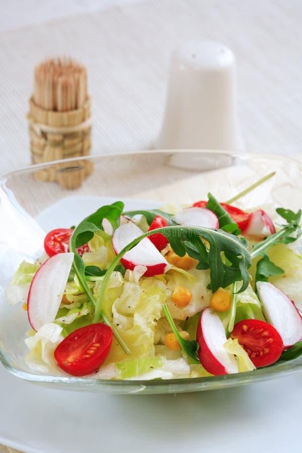 υγιής σαλάτα στοκ εικόνα