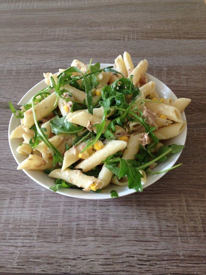 Υγιή ζυμαρικά salade στοκ φωτογραφία με δικαίωμα ελεύθερης χρήσης