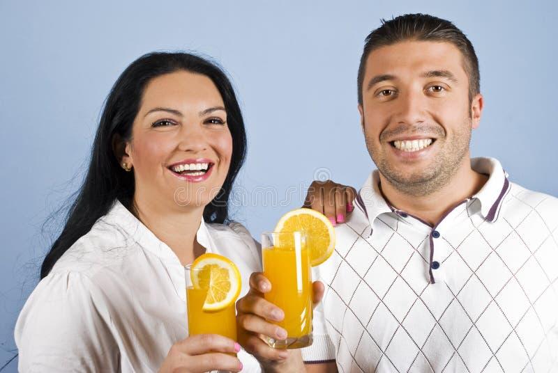υγιή πορτοκάλια γέλιου &ch στοκ εικόνες με δικαίωμα ελεύθερης χρήσης