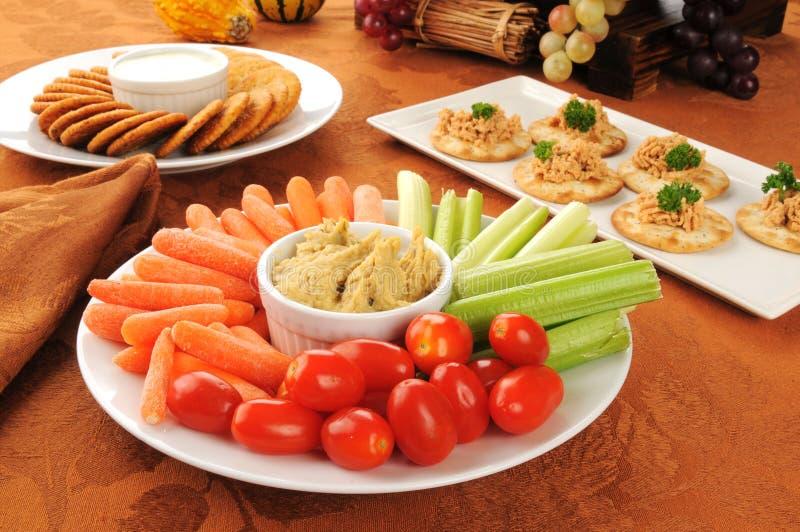 Υγιή πρόχειρα φαγητά διακοπών στοκ φωτογραφία με δικαίωμα ελεύθερης χρήσης
