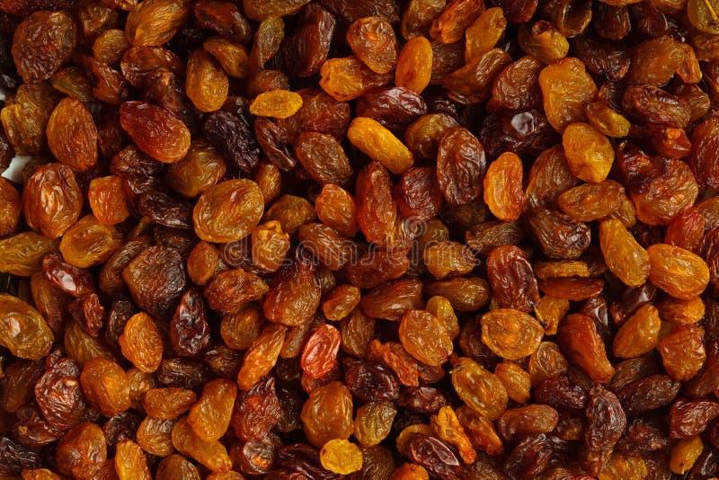 Υγιή τρόφιμα διατροφής. Ξηρό σταφύλι σταφίδων ως σύσταση υποβάθρου στοκ φωτογραφία με δικαίωμα ελεύθερης χρήσης