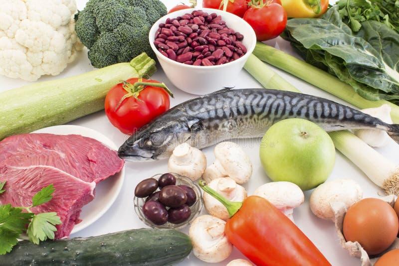 Υγιή τρόφιμα που συστήνονται για το διαβήτη και την υπέρταση στοκ φωτογραφία με δικαίωμα ελεύθερης χρήσης