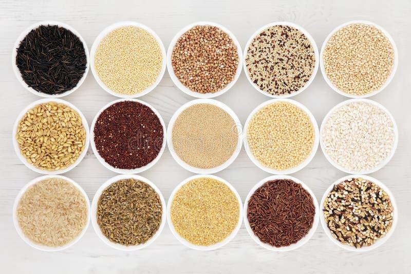 Υγιή τρόφιμα σιταριού στοκ εικόνα με δικαίωμα ελεύθερης χρήσης
