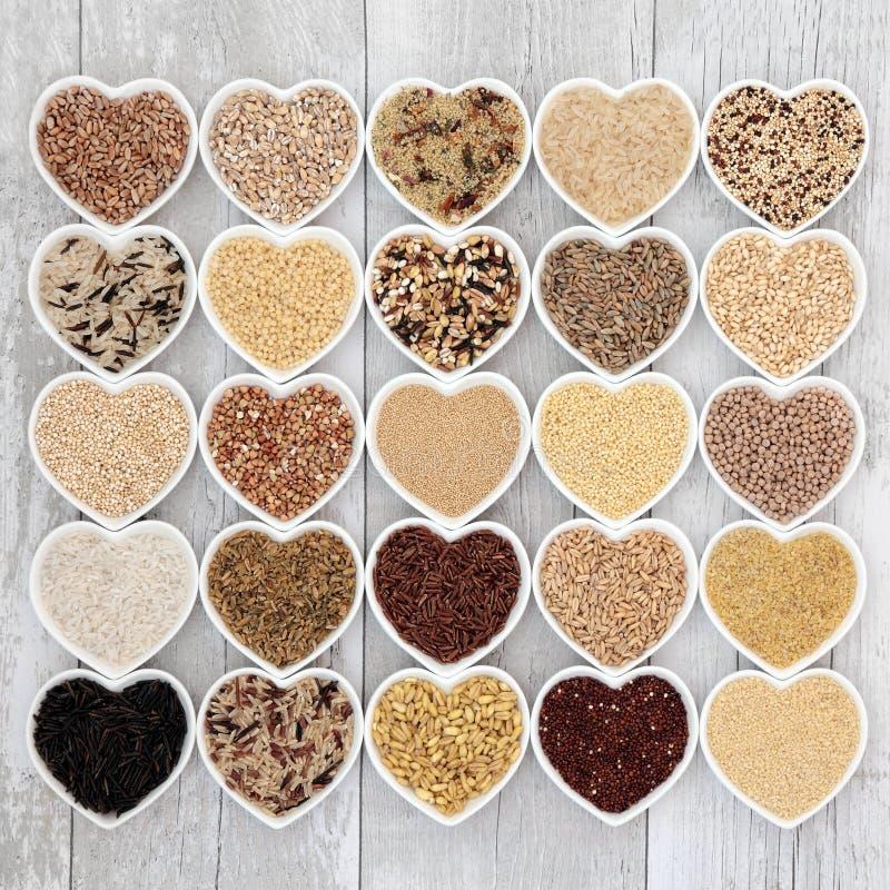 Υγιή τρόφιμα σιταριού στοκ εικόνες με δικαίωμα ελεύθερης χρήσης