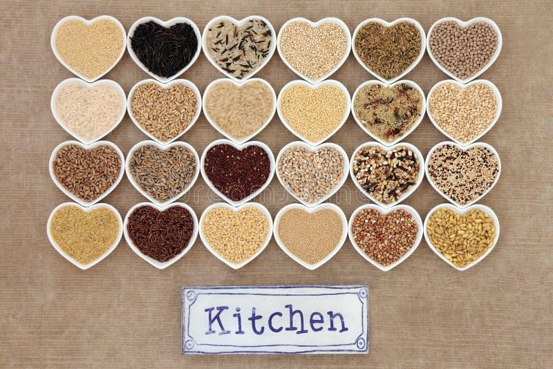 Υγιή τρόφιμα σιταριού στοκ φωτογραφία με δικαίωμα ελεύθερης χρήσης