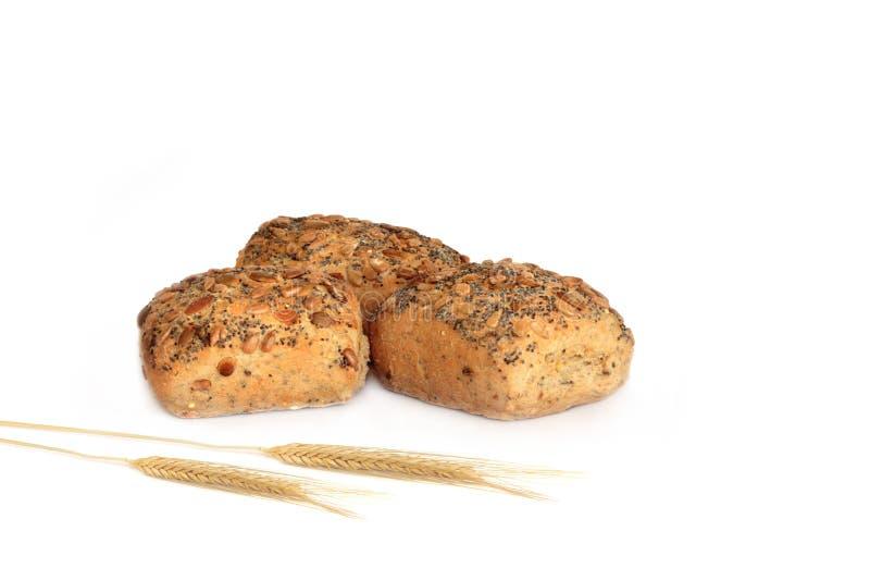 υγιείς ρόλοι ψωμιού στοκ φωτογραφίες με δικαίωμα ελεύθερης χρήσης