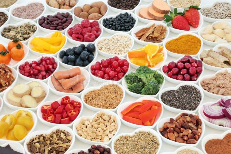 Υγιεινή διατροφή Chioce στοκ εικόνες
