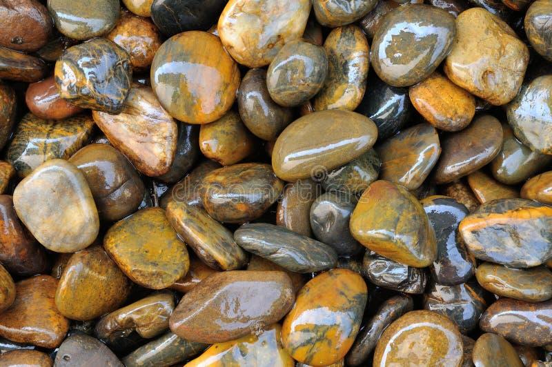 Υγρή σύσταση 2 πετρών Στοκ Φωτογραφίες