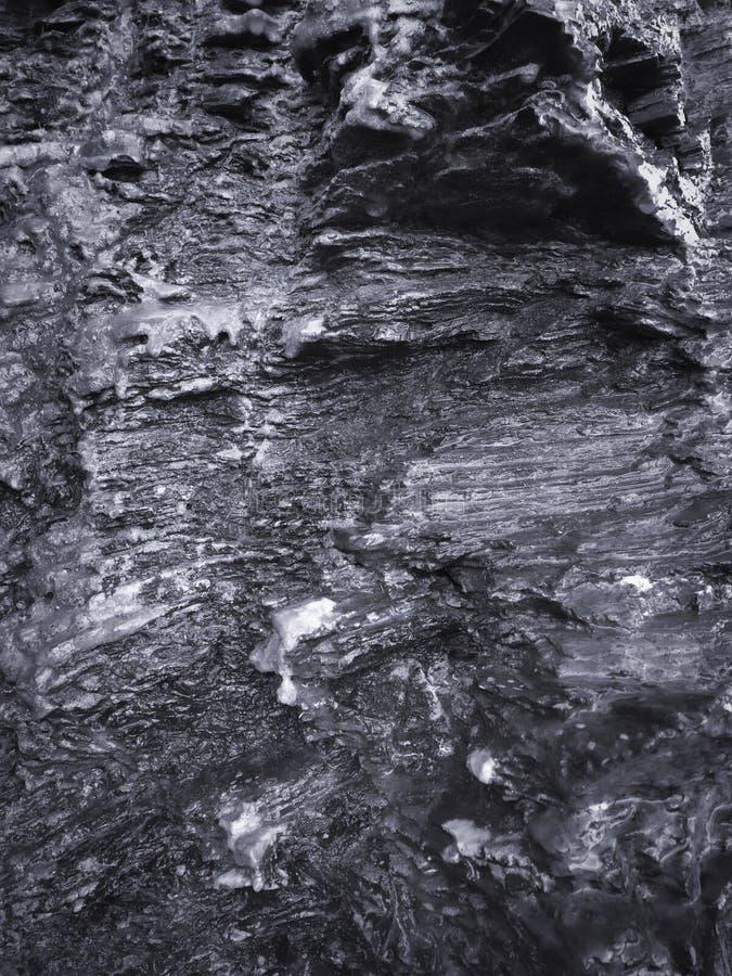 Υγρός βράχος, σχηματισμοί πετρών ως υπόβαθρο στοκ φωτογραφίες με δικαίωμα ελεύθερης χρήσης