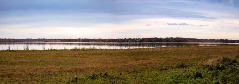 Υγρότοπος και έλος στο κρατικό πάρκο ποταμών Myakka στοκ εικόνα