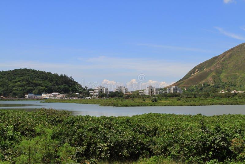 υγρότοπος Tai Ο στο ψαροχώρι στοκ εικόνες με δικαίωμα ελεύθερης χρήσης