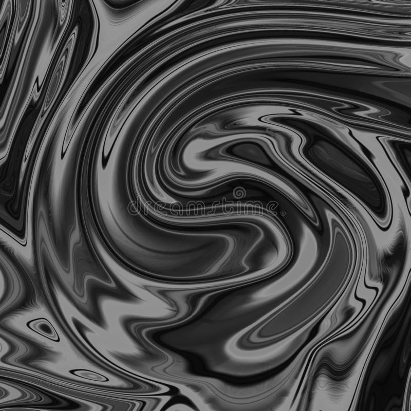 Υγρό αφηρημένο υπόβαθρο με τις ραβδώσεις ελαιογραφίας απεικόνιση αποθεμάτων
