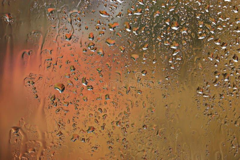 Υγρό γυαλί υποβάθρου στοκ εικόνα