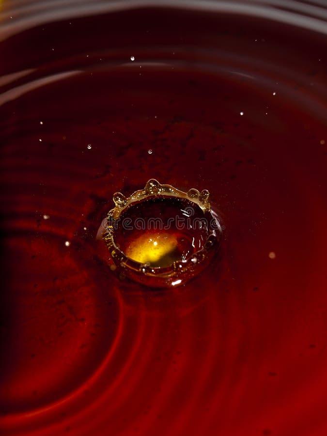 υγρό κόκκινο στοκ φωτογραφία