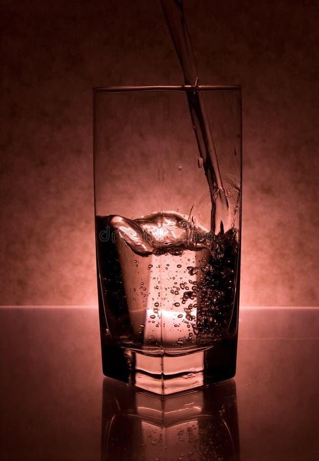 Υγρό που χύνεται στο γυαλί