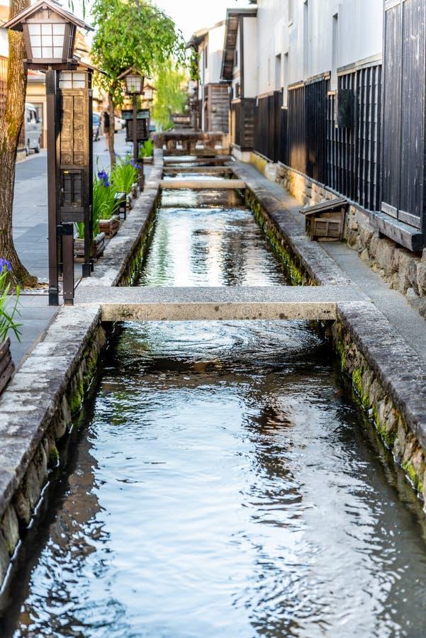 Υδάτινη οδός στο Γκιφού Ιαπωνία στοκ φωτογραφία με δικαίωμα ελεύθερης χρήσης