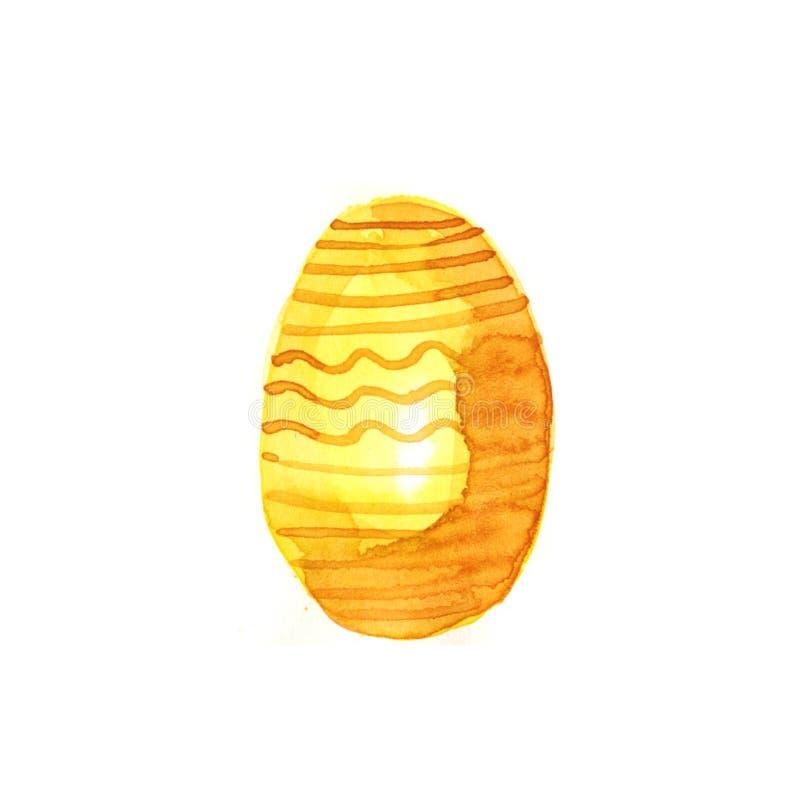 Υδατόχρωμα αυγών εστέρα ελεύθερη απεικόνιση δικαιώματος