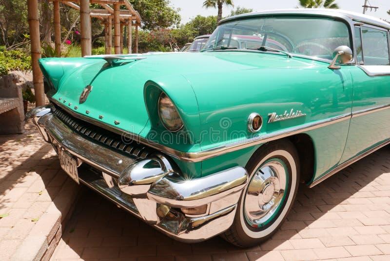 Υδράργυρος Montclair coupe 1955 που εκτίθεται στη Λίμα στοκ φωτογραφία με δικαίωμα ελεύθερης χρήσης